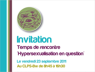 hypersexualisation 23 septembre